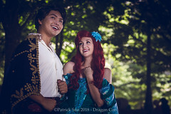SP_83664 (Patcave) Tags: dragon con dragoncon 2018 dragoncon2018 cosplay cosplayer cosplayers costume costumers costumes little mermaid disney ariel animation movie redhead redhair prince eric