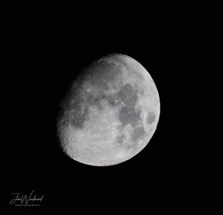Waxing Gibbous Moon  85% Illuminated