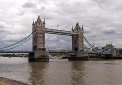 Tower Bridge pt.3 (gissberg) Tags: sonya7iii fe2470f28gm sony towerbridge london unitedkingdom england bridge sky clouds thames