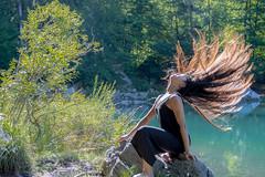 Danse au sommet (2 sur 4) (belval74) Tags: art danse danseur eau france hautesavoie lac lieu personne sallanchespassychedde