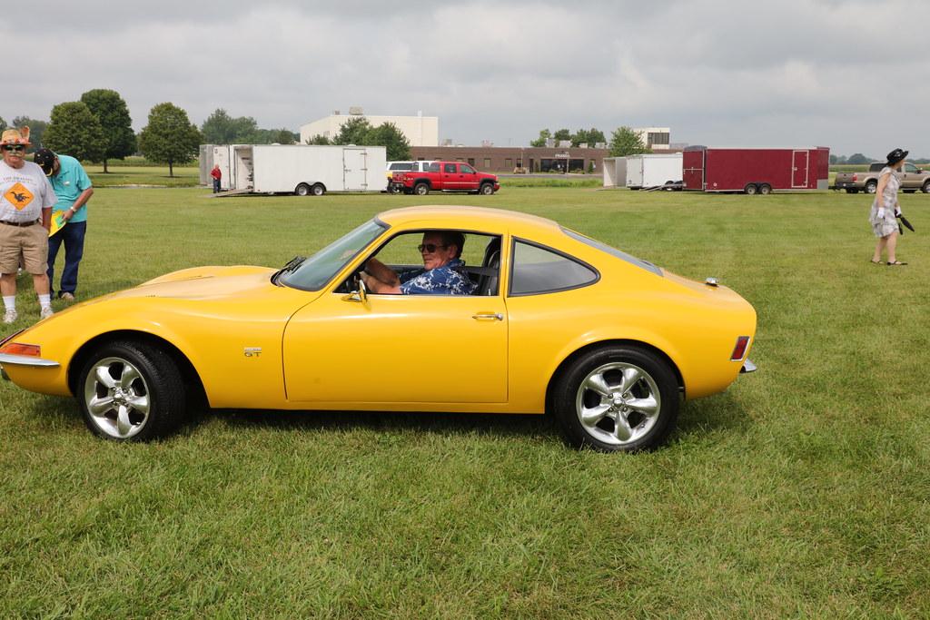 1970 Opel GT (Ray Cunningham) Tags: 1970 opel gt urbana illinois motor muster