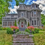 Paris Ontario - Canada - 214 Grand River North - Second Empire - Victorian Architecture thumbnail
