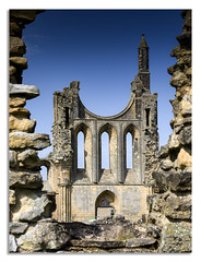 Byland Abbey, North Yorkshire (johnhjic) Tags: northyorkshire long colour colours color colors north yorkshire moss exposure green byland brown slow blue x1d hasselblad johnhjic stone stones landscape gliding glider bylandabbey abbey
