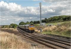 66777. Clarborough Junction. (Alan Burkwood) Tags: clarboroughjunction gbrf 66777 annette 4d71 cottampsdoncasterdecoy empty coal diesel locomotive