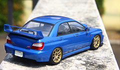 Subaru Impreza WRX STI (vitaraman) Tags: tamiya aoshima subaru impreza wrx sti crkai rally look mrcolor blue gaia gd fujimi brembo brakes