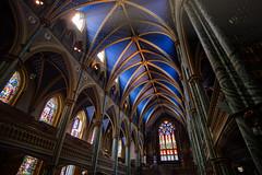 Notre Dame Basilica (FamHiroshima) Tags: architecture church sunlight interior old detail ottawa ontario canada notredame fuji fujifilm fujix xt2 xtrans rokinon 12mm samyang