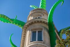 05-Une pieuvre squatte dans un immeuble de Bordeaux (Alain COSTE) Tags: bordeaux gironde france fr