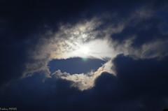 L1030830 (meroudesmontagnes) Tags: nature lune nuit nuages lumière