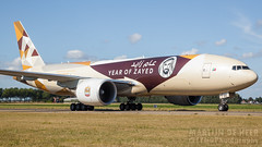 A6-DDE (tynophotography) Tags: etihad cargo 777f a6dde year zayed boeing 777 livery
