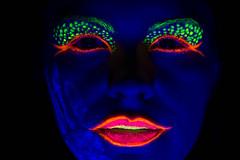 Face (VisualTheatrics) Tags: uvreactuve uv neon neonportrait photography photograph people pointofview portrait portraits portraiture pov dslr detail digitalphotography dailylife canon colourful colour