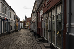 Ebeltoft (michael_hamburg69) Tags: ebeltoft dänemark danmark denmark djursland street cobblestone kopfsteinpflaster häuser