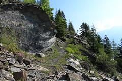 en route pour l'Au de Mex (bulbocode909) Tags: valais suisse mex forêts arbres montagnes nature sentiers rochers vert nuages bleu