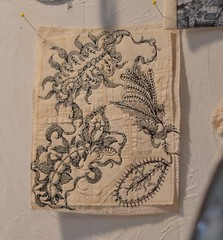 a bit closer to see (Danny W. Mansmith) Tags: dannymansmith burienwashington art life homestudio workinprogress sewing fiberart handmade simplelife hope love sharing magic nature