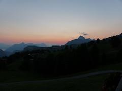 Last of the Summer Sun (Marit Buelens) Tags: landscape mountain lake berge switzerland suisse schweiz schwyz muotathal vierwaldstättersee grossermythen kleinermythen haggenspitz oberefraumatt illgau sunset sonnenuntergang sun