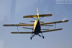 2018-09-08 Szatymaz IMG_5488_ HA-MBJ + HA-YHD (horvath.balazs1980) Tags: antonov an2 ancsa colt kétfedelű biplane szatymaz lhst ha hambj hayhd repülőnap airshow