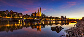 Regensburg Skyline