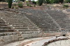 Theatre (demeeschter) Tags: greece delphi archaeological heritage historical ruins unesco parnassus mount ancient oracle museum art theatre stadium temple apollo