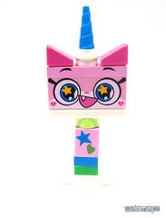 Front view of Rainbow Unikitty (WhiteFang (Eurobricks)) Tags: lego bind bags unikitty series 1 brick built animals kitty puppy box colourful vibrant sunshine cheerful fun pink