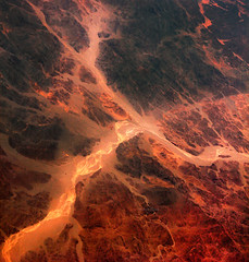 The colors of the desert (Robyn Hooz) Tags: egitto egypt deserto desert red sand sabbia solchi uadi africa colors