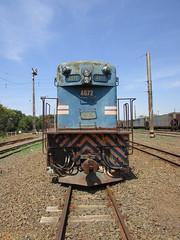 FCA - EMD/GM  G8 # 4072 - ZBL - 16/09/2018 (alexandregiltrens) Tags: emd locomotive railroad rail railfan railway train trem fca vl zbl 4072 g8 gm