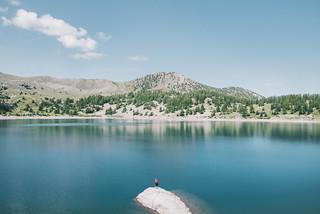 Lac d'Allos, Mercantour.