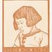Portrait of Ineke Broekman (1916) by Julie de Graag (1877-1924). Original from the Rijks Museum. Digitally enhanced by rawpixel.