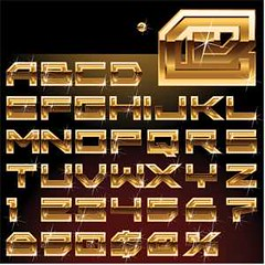 shinny gold Alphabet ABC Vector (cgvector) Tags: abc alphabet black blue bright collection creative decorative design excellent fashion font glossy glowing gold golden graphic green idea illustration illustrator letter luxury metal metallic modern new orange original red set shine shiny style symbol template text type typeset typographic typography vector violet wealth white yellow