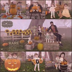 Say Cheese - Happy Halloween Gacha (Jany Bluebird) Tags: virtual virtualworld avatar event holiday halloween pumpkins toddleedoo family toddleedoopose familypose familypicture gacha