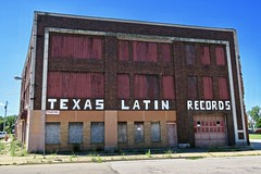 Texas Latin Records, Saginaw, MI (Robby Virus) Tags: saginaw michigan mi texas latin records store business abandoned vacant derelict closed ghost sign signage