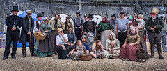 Ragged Victorians. (_Anathemus_) Tags: ragged victorians living history group england uk weymouth nothe fort dorset nikon d750 victorian era lower dickens the great unwashed class poor homeless l ll charles portland harbour