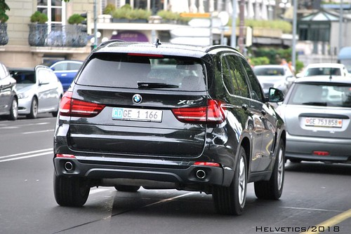 BMW X5 - Switzerland, diplomatic plate