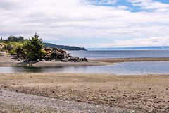 At the Jordan River (MIKOFOX ⌘ Thanks 4 Your Faves!) Tags: canada river showyourexif strait xt2 ocean water vancouverisland learnfromexif july rocks landscape provia beach fujifilmxt2 mikofox britishcolumbia summer xf18135mmf3556rlmoiswr