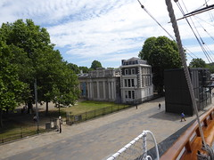 View of museum from ship (c_nilsen) Tags: cuttysark ship clippership london unitedkingdom england teaclipper