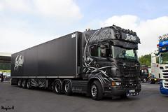 "Scania R II Topline "" TSU JENS BODE "" (D) (magicv8m) Tags: scania r ii topline tsujensbode d tir trans transport lkw"
