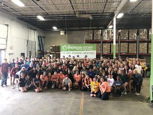 Bethel University Packing Event Group #1, 8/25/18