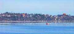 Red Boat (My Best Images) Tags: djurgården stockholm lidningö boat ice sun spring