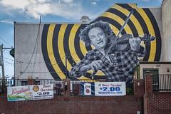 Hey Larry! (Leaning Ladder) Tags: philadelphia pa pennsylvania graffiti streetart street mural faces 3stooges leaningladder canon 7d 7dmkii