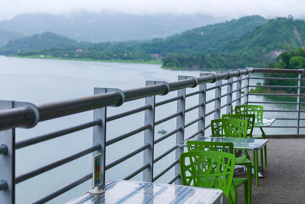 曾文水庫360度咖啡觀景樓 |雨後的台灣,很美20