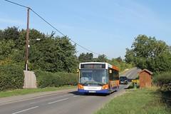 Centrebus 671 0900hrs Grantham to Stamford 010918 (return2layerroad) Tags: centrebus garntham stamford castlebytham vdlsb180 mcvevolution yh63cxb lincolnshire