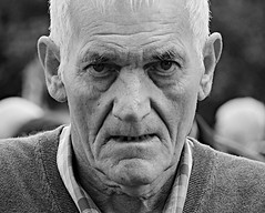 A face in the crowd No 6. (Robertinsco) Tags: candidphotography candidportrait candidstreetphotography monochrome blackwhite blackandwhite blackwhitephoto blackandwhitecandidportrait scotland lumixgvario45150f4056 gx8