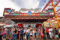 CNE 2018 II (Jack Landau) Tags: canadian national exhibition toronto fair carnival rides midway cne ex ontario canada city urban skyline sunset pink sky jack landau canon 5d people
