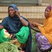 Somali women selling animal feed in Garissa