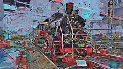 BaikalReise 75i (wos---art) Tags: bildschichtung russland transsibirische eisenbahn historisch ausgemustert stillgelegt schrottplatz ausgestellt präsentiert maschinengeschichte