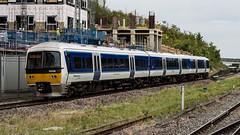 165039 (JOHN BRACE) Tags: 1990 brel york built class 165 dmu 165039 seen wembley stadium station chiltern trains blue livery