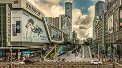 Huaqiang Road, Shenzhen (China) #12, 07-2018, (Vlad Meytin, vladsm (Instagram: vlad.meytin) Tags: china electronicmarket futiandistrict huaqiangroad khimporiumco meytin shenzhen shenzhencenter shenzhenelectronicmarket vladmeytin architecture asia blue bluesky buildings city cityarchitecture cityview cityscape clouds glass modern officebuilding photography pictures steel urban vladsm vladsmcom 中国 中國 深圳