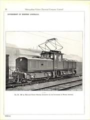 Metropolitan Vickers Catalogue 1938/9 - Page 30 (HISTORICAL RAILWAY IMAGES) Tags: metropolitan vickers catalogue locomotives railway australia train wagr