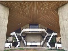 Staircase (sander_sloots) Tags: stairs staircase rotterdam erasmus university building concrete brutalism modernist modernisme functionalism trappenhuis gebouw universiteit beton brutalisme architectuur architecture architectur treppe treppenhaus