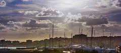 Yachthafen in Palma de Mallorca (Viewfreeze) Tags: mallorca urlaub palma illesbalears spanien es wolken yacht