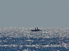 Sunday trip. (Ia Löfquist) Tags: crete kreta sunday söndag ierapetra sea hav glitter solglitter boat båt sky himmel