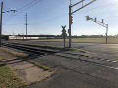 Tom Burke Photo South Shore NICTD Bendix Drive at Prast Blvd. South Bend IN September 15 2018 (Tom J. Burke) Tags: southbend southshore nictd bendix train railroad